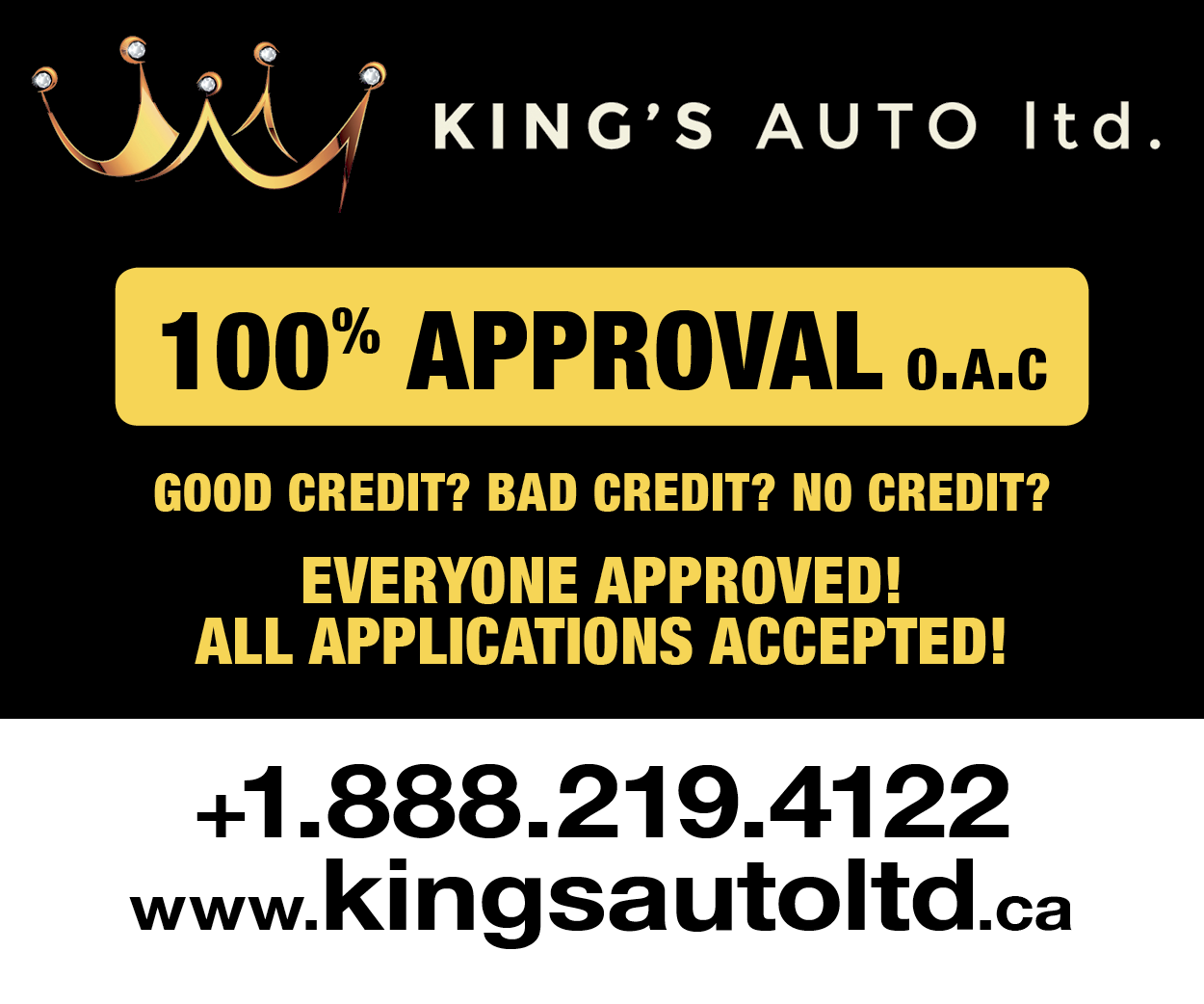 More from Kings Auto Ltd
